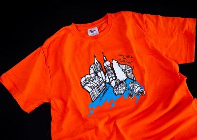 Tisk triček, suvenýr NMNM