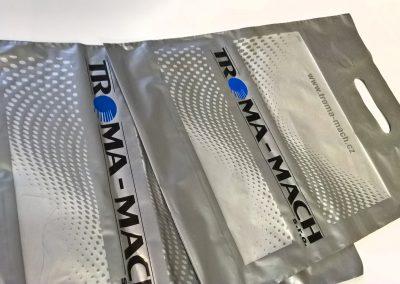 Potisk igelitových tašek