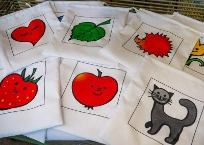 Výroba individualizovaných tašek pro mateřskou školu